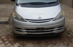 Toyota Previa 2002 Automatic Silver for sale