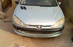 Peugeot 206 2003 SW Silver color for sale