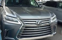 Lexus LX 2017 Silver for sale