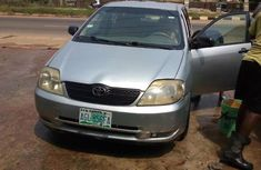 Toyota Corolla 2002 Gray for  sale