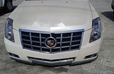 2010 Cadillac CTS White for sale