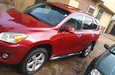 Toyota RAV4 2009 Limited Red for sale