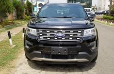 Ford Explorer 2017 Black for sale