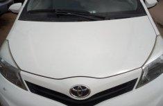 Toyota Vitz 2012 White