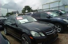 Mercedes-Benz E550 2011 Black for sale