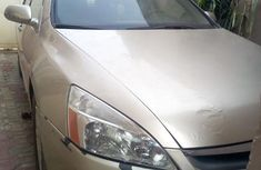 Honda Accord 2007 2.4 Gold color for sale