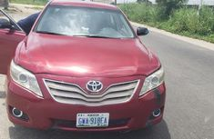 Very neat Toyota Camry 2008 Red color for sale