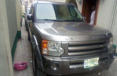 Super neat Land Rover LR3 2008 Gray for sale