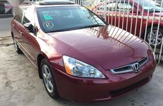 Honda Accord 2005 Automatic Red for sale