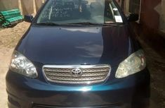 Foreign used Toyota Corolla 2005 Blue for sale