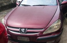 Peugeot 607 2006 Red for sale