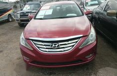 Hyundai Sonata 2013 Red color for sale