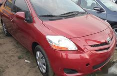 Toyota Yaris 2007 Sedan Automatic Red for sale