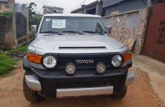 Toyota FJ Cruiser 2007 Silver color for sale
