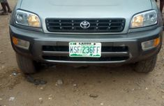 Neatly used Toyota RAV4 2000 Silver for sale