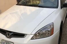 Honda Accord 2003 2.4 Automatic White for sale