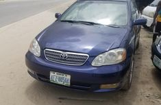 Good engine Toyota Corolla 2005 Blue for sale