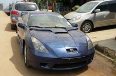 Tokunbo Toyota Celica 2001 Blue color for sale