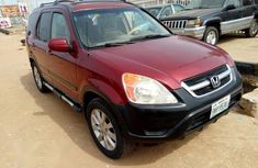 Good condition Honda CR-V 2006 Red for sale