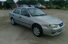 Toyota Corolla 1.9 D Sedan 2000 Silver for sale