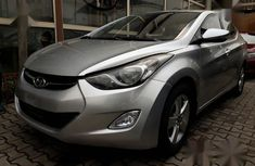 Hyundai Elantra 2012 Silver for sale