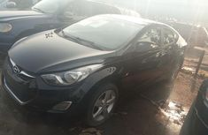 Register Hyundai Elantra 2012 Black for sale
