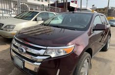 Clean Ford Edge 2011 brown for sale