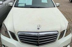 Mercedes-Benz E550 2010 White for sale