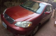 Toyota Corolla 1.4 VVT-i 2006 Red for sale