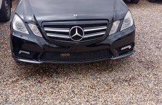 Mercedes-Benz E550 2010 Black for sale