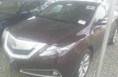 Acura ZDX 2010 Red for sale