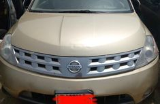 Nissan Murano 2005 SL Gold for sale