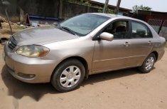 Toyota Corolla 2003 Sedan Automatic Beige for sale