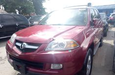 2006 Red Acura MDX for sale