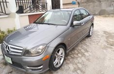 Mercedes-Benz C250 2012 Gray for sale