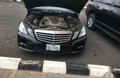 Mercedes-Benz E350 2010 Black for sale