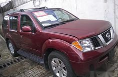 Nissan Pathfinder 2005 Red for sale
