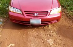 Very neat and affordable Honda Accord 2001 Red for sale