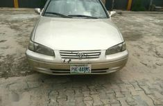 Neat inside Toyota Camry 1997 Gold for sale