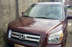 Honda Pilot 2007 Red for sale