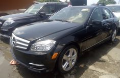 2010 Black Mercedes-Benz C300 for sale in Lagos