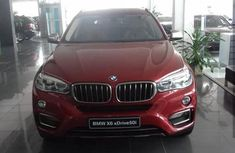 New BMW X6 2015 Red for sale