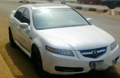 Acura TL Automatic 2004 White for sale