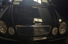 Mercedes-Benz E240 2002 Black for sale