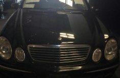 Mercedes-Benz E240 2002 Black for sale