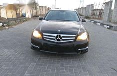 Mercedes-Benz C250 2013 Black for sale