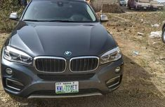BMW X6 2016 Gray for sale