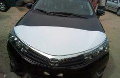 New Toyota Corolla 2017 Black for sale