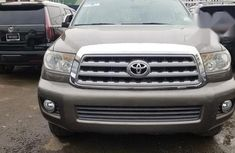 Clean Toyota Sequoia 2009 Gray for sale