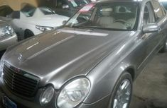 Mercedes-Benz E500 2005 Silver for sale